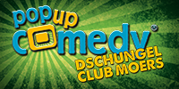 Pop up Comedy DSCHUNGEL-CLUB MOERS