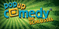Pop up Comedy IM SCHLUESSEL