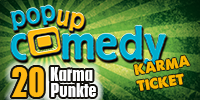 Pop up Comedy KARMA TICKET
