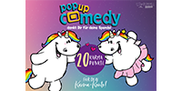 Pop up Comedy KARMA TICKET Pummeleinhorn-Edition